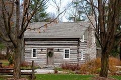 Nineteenth century log cabin Royalty Free Stock Images