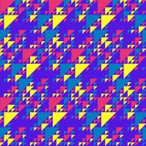Retro triangles background Royalty Free Stock Photography