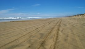 Ninety mile beach Royalty Free Stock Photography