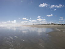 Ninety Mile Beach. North Island, New Zealand royalty free stock image