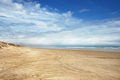 Ninety mile beach Royalty Free Stock Photo