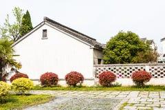 Ninety-nine and a half antique folk houses stock photo