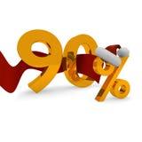 Ninety percent discount Royalty Free Stock Image