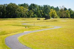 Ninety Six National Historic Site. Carolina Stock Images
