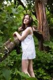 Ninfa del bosque Foto de archivo