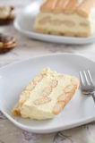 Ningún cueza el pastel de queso Imágenes de archivo libres de regalías