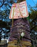Ningún estacionamiento del desfile Imagen de archivo