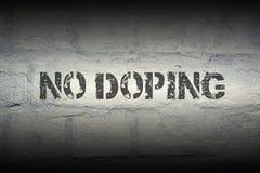 Ningún GR de doping fotos de archivo