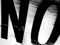 Ningún grunge Imagen de archivo libre de regalías