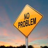 Ningún problema. Fotografía de archivo libre de regalías