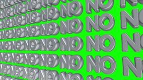 Ningún texto 3d que flota en la pantalla