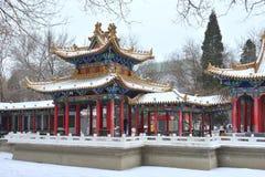 Ning Garden i Yinchuan Arkivbilder