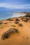 Ningaloo Reef Australia beach sea shore beautiful winter Royalty Free Stock Photography
