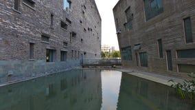 Ningbo museum, Ningbo, Kina Arkivfoton