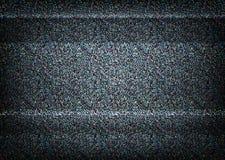 Ningún ejemplo de la señal TV Concepto del error Fotografía de archivo libre de regalías
