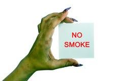 Ningún humo Foto de archivo