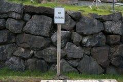 Ningún estacionamiento Fotos de archivo