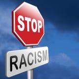 Ningún racismo Imágenes de archivo libres de regalías