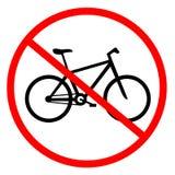 Ningún ciclo Imagen de archivo libre de regalías
