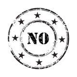 Ningún fondo del sello de goma del grunge Imágenes de archivo libres de regalías