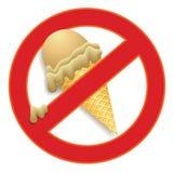 Ningún helado Fotos de archivo libres de regalías