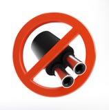 Ningún tubo de escape Fotografía de archivo