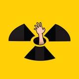 Ninguna arma nuclear Fotos de archivo