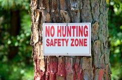 Ninguna caza   fotografía de archivo