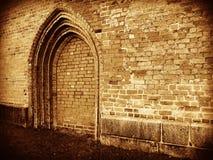 Ninguna entrada - puerta cerrada Imagen de archivo libre de regalías