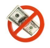 Ninguna muestra de dólar