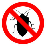 Ninguna muestra de los insectos libre illustration