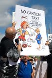 Ninguna reunión del impuesto del carbón Fotografía de archivo libre de regalías