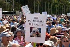 Ninguna reunión del impuesto del carbón Imagenes de archivo