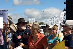 Ninguna reunión del impuesto del carbón Imagen de archivo