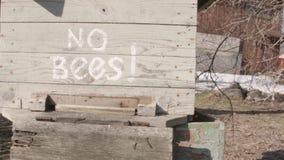Ningunas abejas en colmena metrajes
