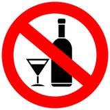 Ningunas bebidas del alcohol Foto de archivo libre de regalías