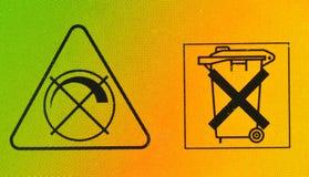 Ningunos compartimientos y muestras del ruido Imagen de archivo libre de regalías