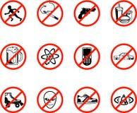 Ningunos iconos Fotos de archivo