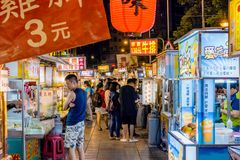 Ningxia night market Royalty Free Stock Images