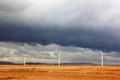 Ningxia wind power plant Stock Photography