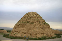 Ningxia Xi Xia Imperial Tombs Museum Royalty Free Stock Photo