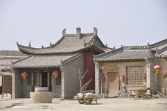 Ningxia zhenbeipu West Film Studio Royalty Free Stock Photos