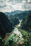 Ninh bimh view point stock images