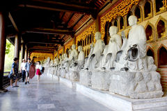 Ninh Binh stad Arkivfoton