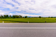 Ninh Thuan, Вьетнам - Otc 2016 - на дороге Стоковое Изображение