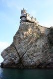 Ninho da andorinha, Crimeia foto de stock