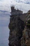 Ninho da andorinha do castelo em Crimeia Imagem de Stock Royalty Free