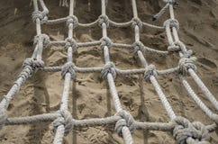 Ninho da corda Imagem de Stock