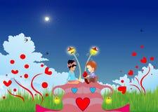 Ninho de amor Foto de Stock Royalty Free