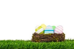 Ninho de Easter Fotos de Stock Royalty Free